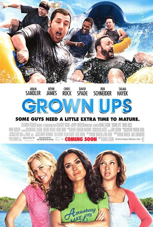 Grown Ups Intl Original Movie Poster Double Sided 27 X40