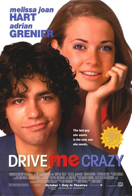 Drive Me Crazy Original Movie Poster 27 X40 Single Sided