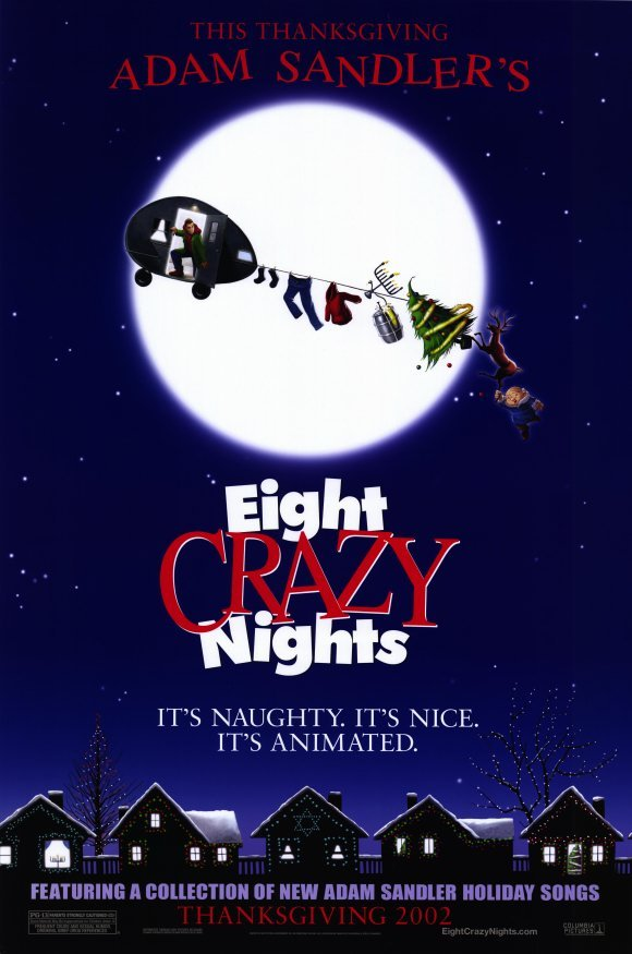 Eight Crazy Nights Advance Original Movie Poster Single Sided 27 X40