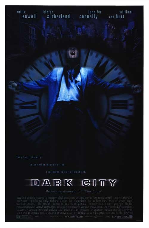 Dark City Original Movie Poster Single Sided 27x40
