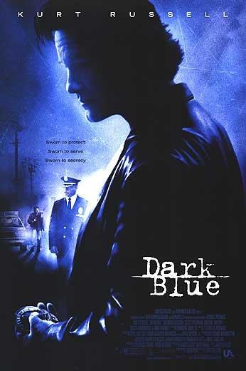 Dark Blue  Original Movie Poster Double Sided 27 X40