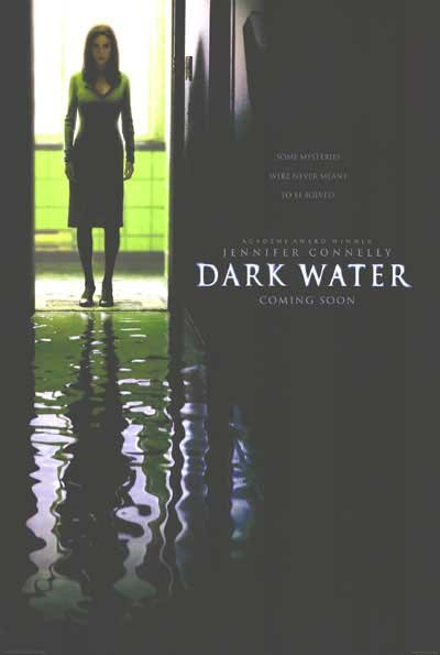 Dark Water  Original Movie Poster Double Sided 27 X40