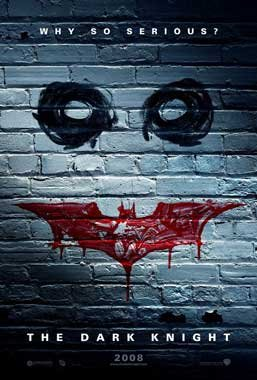 Dark Knight (Wall )  Original Movie Poster Double Sided 27 X40