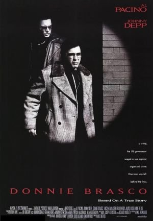 Donnie Brasco Original Theatrical Movie Poster  Double Sided 27 X40
