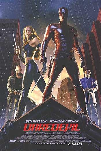 Daredevil Regular Original Movie Poster Single Sided 27x40