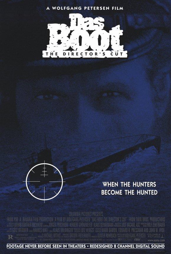 Das Boot Director's Cut Original Movie Poster Single Sided 27x40