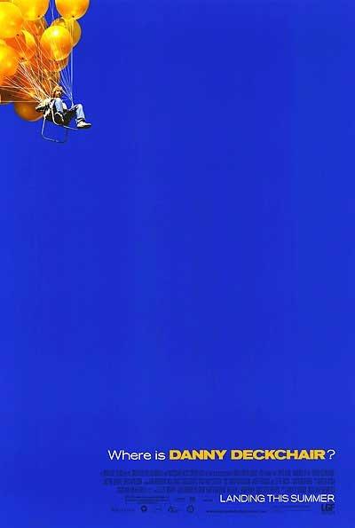 Danny Deckchair Advance Original Movie Poster Single Sided 27x40