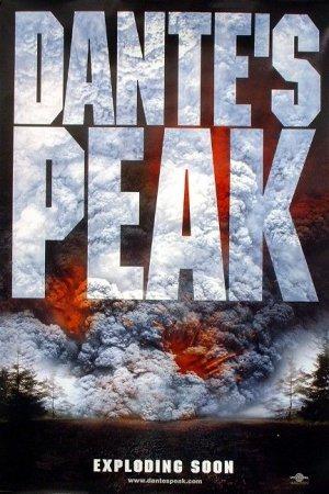 Dante's Peak  Advance Original Movie Poster Double Sided 27x40