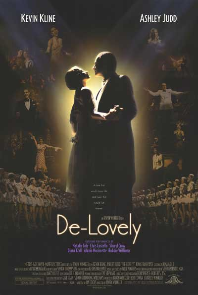 De-Lovely Original Movie Poster Double Sided 27x40