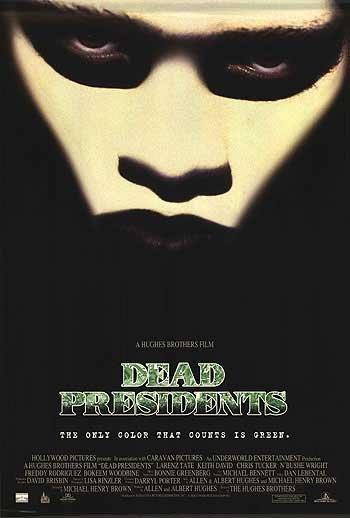 Dead Presidents Original Movie Poster Single Sided 27x40