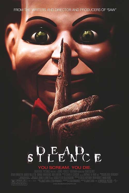 Dead Silence Advance Original Movie Poster Single Sided 27x40