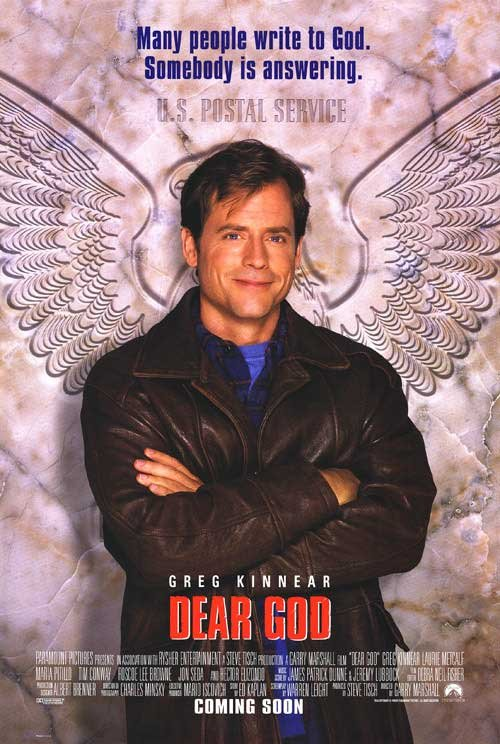 Dear God Original Movie Poster Double Sided 27x40