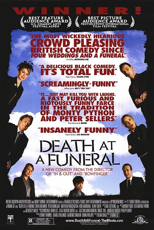 Death At The Funeral Critics Preview Original Movie Poster Double Sided 27x40