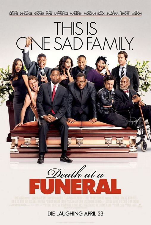 Death At The Funeral  Original Movie Poster Single Sided 27x40