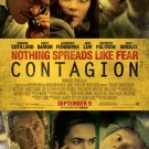 Contagion Regular Original Movie Poster Double Sided 27 X40