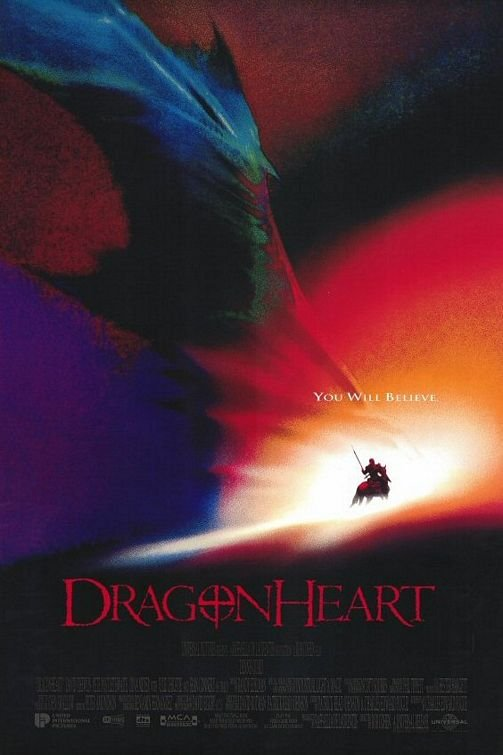Dragonheart Original Movie Poster Double Sided 27x40