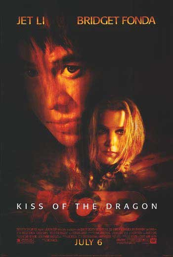 Kiss Of The Dragon Original Movie Poster Double Sided 27x40