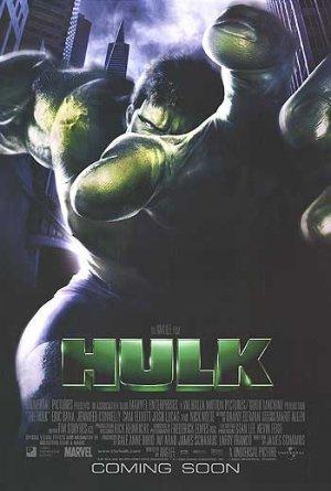 Hulk  Original Movie Poster  Double Sided 27 X40