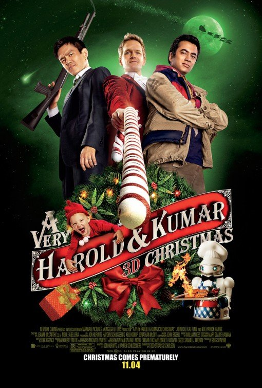 A Very Harold & Kumar Original Movie Poster Double Sided 27x40