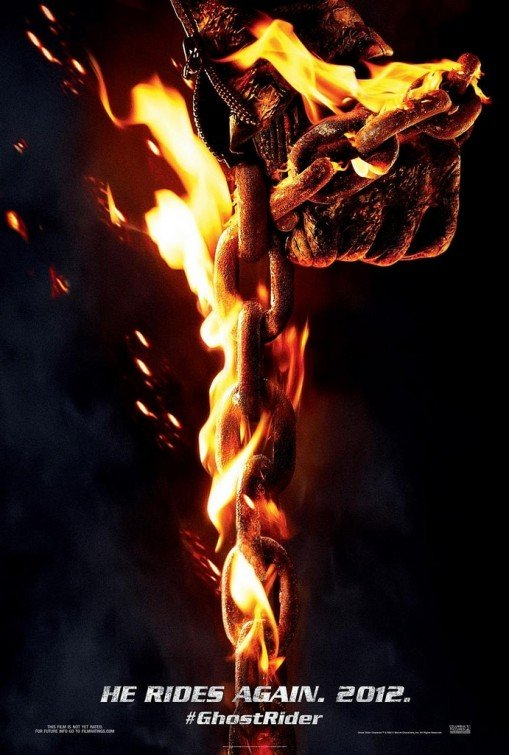 Ghost Rider 2  Original Movie Poster Double Sided 27 X40
