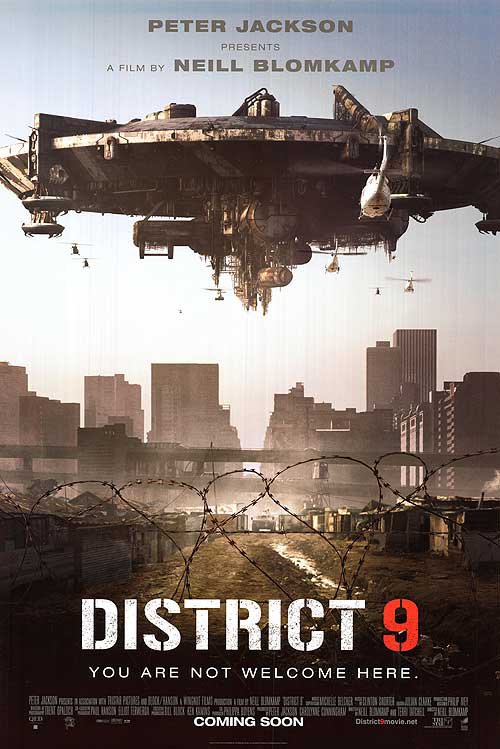 District 9 Intl Original Movie Poster Double Sided 27x40