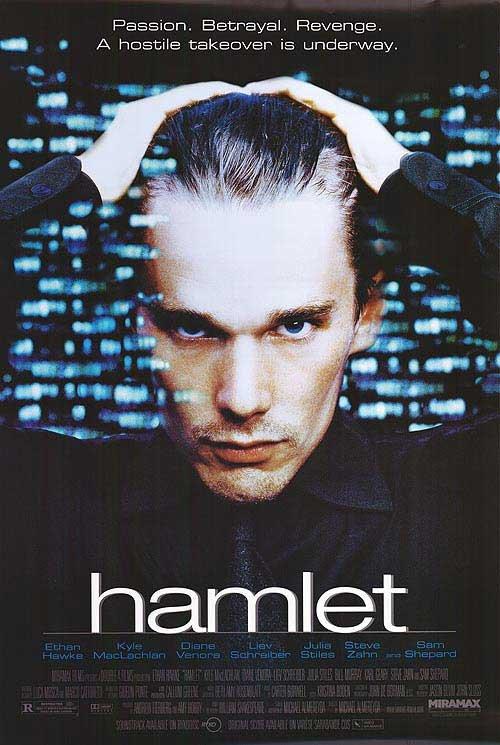 Hamlet (Ethan Hawke) Original Movie Poster Single Sided 27x40
