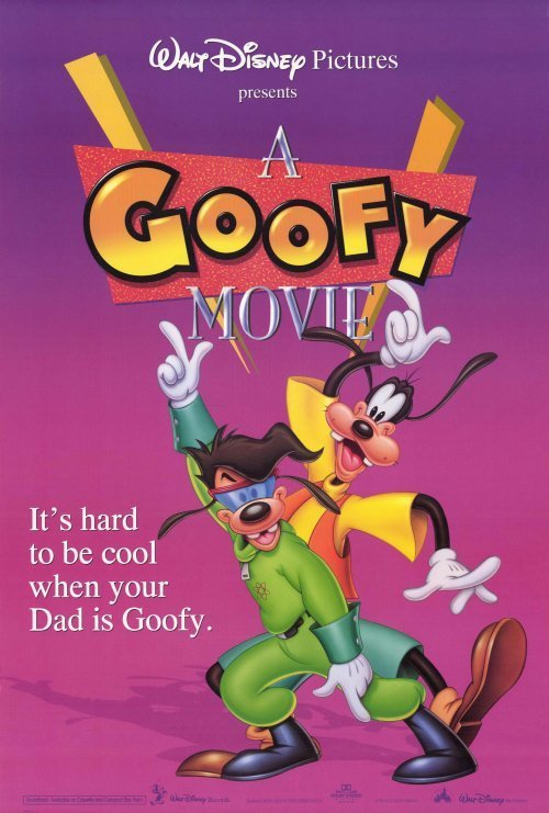 Goofy The Movie  Pink Original Movie Poster Double Sided 27x40