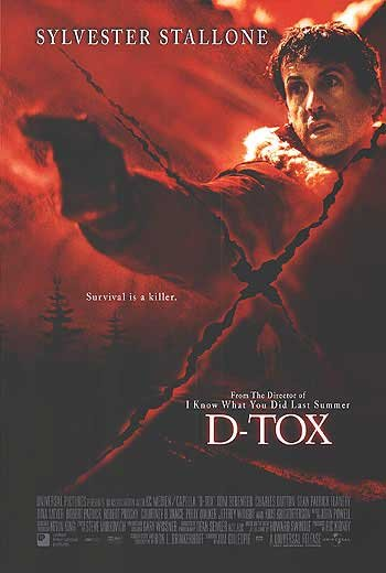 D-TOX  MOVIE Poster ORIGINAL  dOUBLE SIDED 27 X40