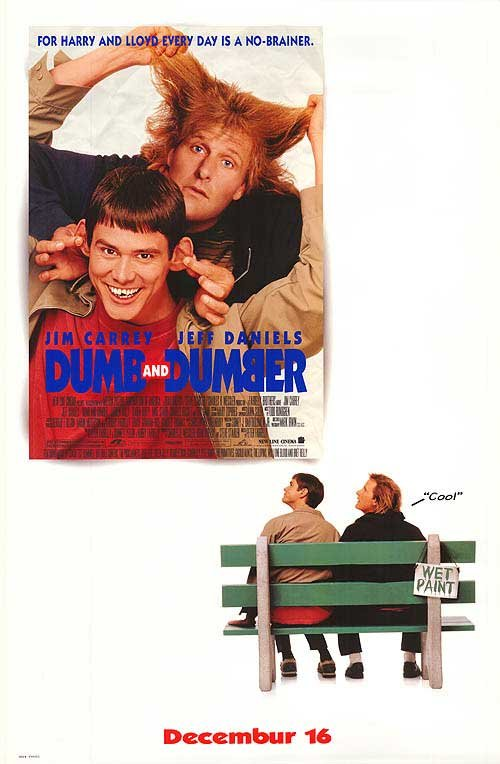 DUMB & DUMBER DBL SIDED MOVIE Poster ORIG 27 X40
