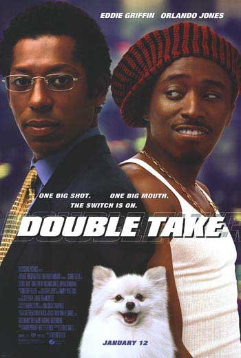 DOUBLE TAKE MOVIE Poster ORIG 27 X40 DOUBLE SIDED