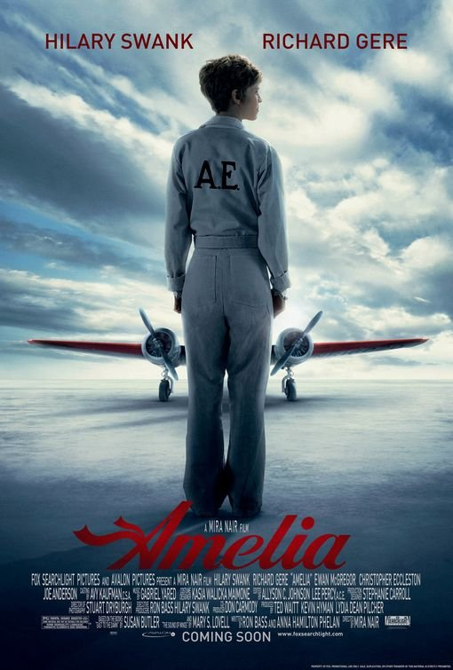 AMELIA DOUBLE SIDED ORIGINAL Movie Poster 27X40