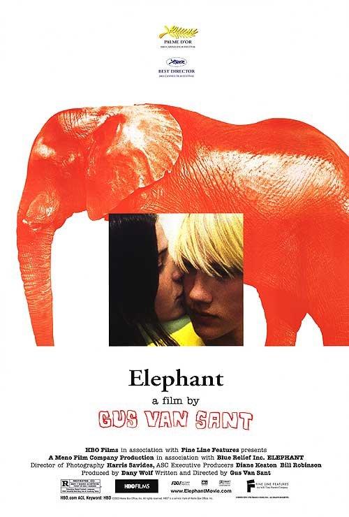 ELEPHANT Movie Poster  27X40 ORIGINAL SINGLE SIDED