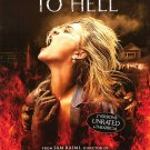 DRAG ME TO HELL (DIRECTOR'S CUT) ORIG Movie Poster 27X40 SINGLE SIDED