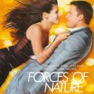 Forces Of Nature Yellow Original Movie Poster Double Sided 27 x40