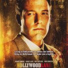 Hollywoodland Original Movie Poster Double Sided 27x40