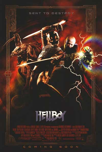 Hellboy(Villain) Original Movie Poster Double Sided 27x40