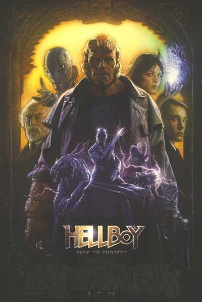 Hellboy Rare Coverstock  Original Movie Poster Single Sided 27x40