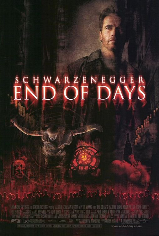 End Of Days Regular Original Movie Poster Double Sided 27x40