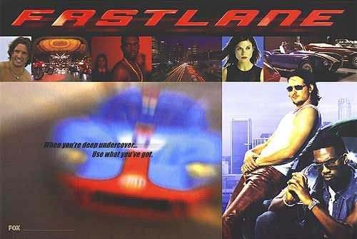 Fastlane Tv Show Poster Original Movie Poster Single Sided 27x40