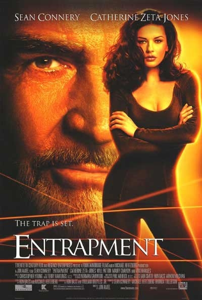 Entrapment Regular Original Movie Poster Single Sided 27x40