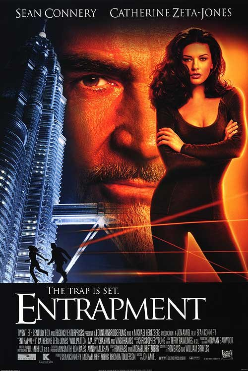 Entrapment Intl Original Movie Poster Double Sided 27x40