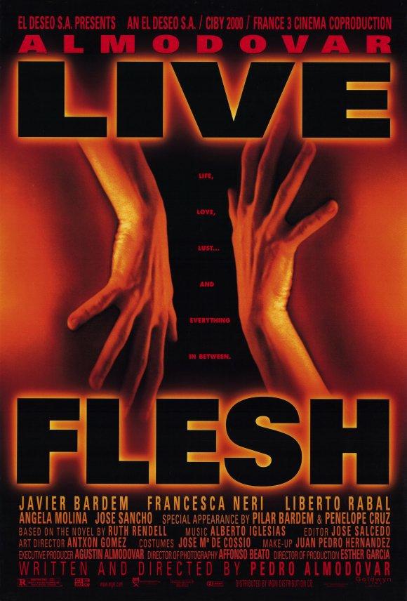Live Flesh Original Movie Poster Single Sided 27x40
