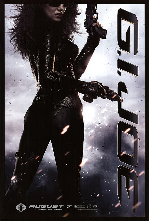 G.I. Joe : Rise Of Cobra Baroness Original Movie Poster Double Sided 27x40
