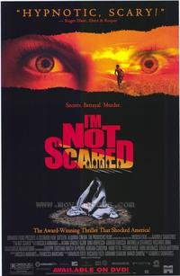 Im not scared Dvd Poster Movie Poster Original Single Sided 27x40
