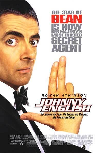 Johnny English Original Movie Poster Single Sided 27 X40