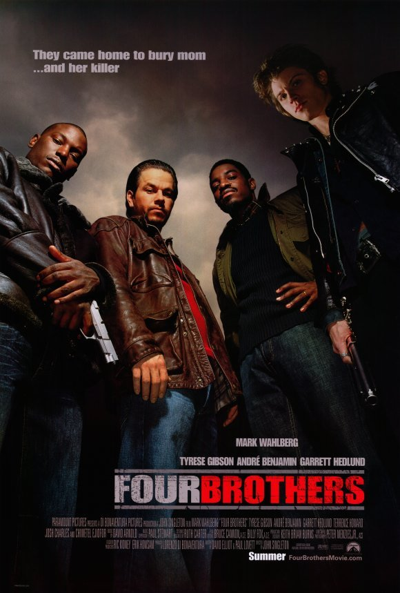 Four Brothers Original Movie Poster Double Sided 27 X40