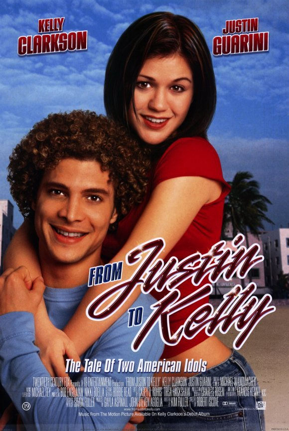 From Justin To kelly Original Movie Poster Double Sided 27 X40