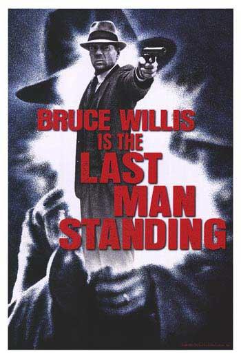 The Last Man Standing Advance Original Movie Poster 27 X40 Single Sided