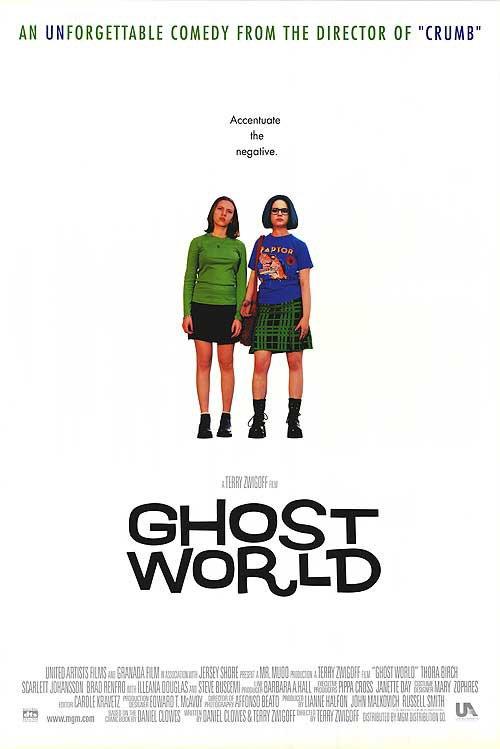 Ghost World Original Movie Poster Single Sided 27 X40