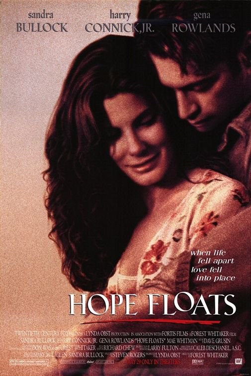 Hope Floats Original Movie Poster Single Sided 27 X40